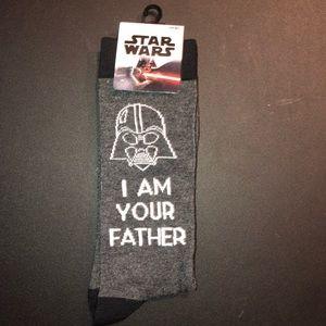 Disney Star Wars Darth Vader Socks